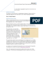 Map-based Data Visualization Instructional Design Project