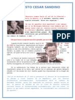 Briografía del General Augusto Cesar Sandino