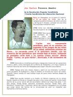 Biografía del Cdte. Carlos Fonseca Amador