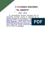 Biografía del Cdte German Pomares Ordoñez
