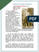 Biografía del Gral. Benjamin Zeledon