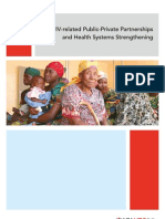 HIV-Related Public-Private Partnerships and Health Systems Strengthening