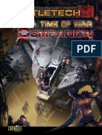 BattleTech - a Time of War - Companion
