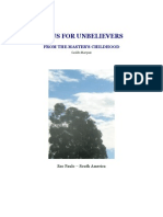 JESUS FOR UNBELIEVERS - FROM THE MASTER'S CHILDHOOD