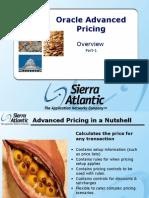 Advance Pricing