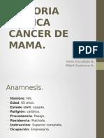 Historia Clinica CA de Mama