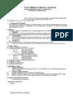 Plan de Curso de Historia Eclesiastica II Salvador Tobar