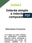 Interes Simple e Interes Compuesto