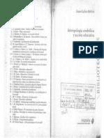 PDF Antropología Simbólica y Acción Educativa Mèlich