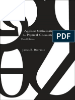 Applied Mathematics for Physical Chemistry - James Barrante