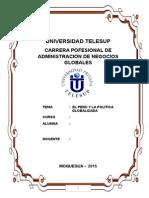 Monografia Telesup - El Peru y Su Polictica Globalizada Cuyani
