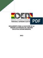 Reglamento General Eleccion Departamental(1)