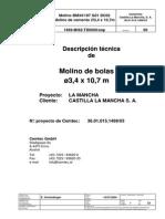 Manual Desc.tec.Molino BolasCCLM