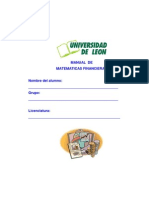 Manual de Matemáticas Financieras