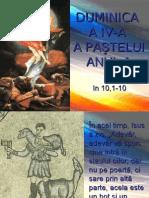 Duminica a IV-a a Pastelui - textul evanghelic (A)