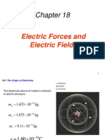 Electric Forces & Electric Fields