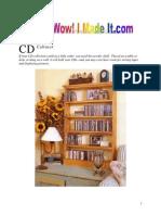 Cabinet Large CD Cabinet
