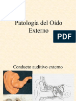 Patologia Del Oido Externo
