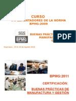 Curso Bpmg - Camara Comercio de Huancayo