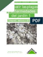 Combatir Plagas y Enfermedades de Jardín. volumen 1