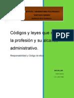 Códigos y Leyes Que Rigen La Profesión de arquitectura