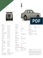 Rolls Royce Phantom World Specification 2012