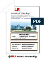 Kom Course File New Format m v Reddy
