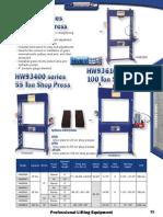 Hein Werner Shop Presses