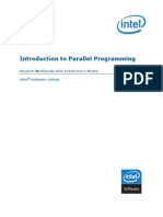 Introduction to Parallel Programming_Student Workbook With Instructor's Notes