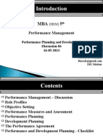 Performance Management Session 6