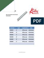 Roller Bearing Slides Application Guide