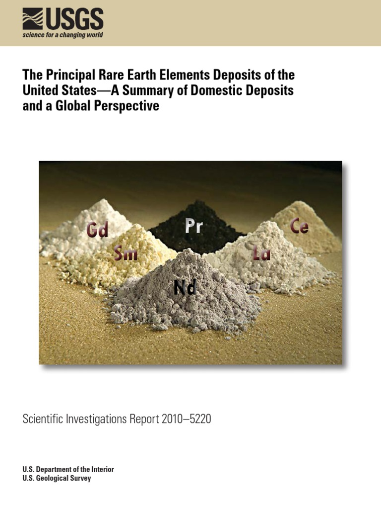 151 Quantum Rare Earth Developments Corp Reports Significant Update To Resource Estimate At The Elk Creek Niobium Deposit Nebraska >> The Principal Rare Earth Elements Deposits Sir10 5220 Rare Earth