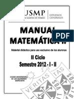 Manual Matematica II