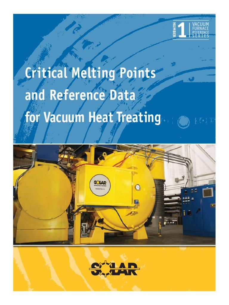 Critical Melting Point1   Bronze   Oxide