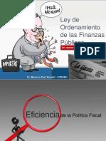 La Ley de Ordenamiento de Las Finanzas Publicas