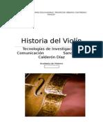 Historia Del Violín Completa