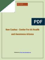 New Caahaz - Center for AA Health and Awareness Arizona