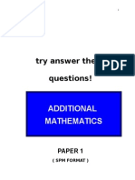 Add Maths P1.doc