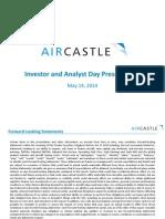 AYR Investor Day May 2014