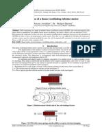 Simulation of a linear oscillating tubular motor