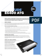 Dell Latitude E6400 ATG Spec Sheet