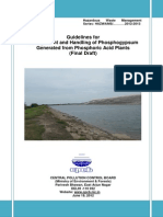 Latest 74 DraftGuidelinesasOnPhosphogypsumGeneratedFromPhosphoricAcidPlants19.06.2012