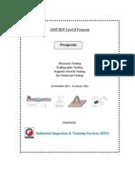 Prospectus for NDT Level-II