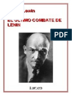 Lewin Moshe - El Ultimo Combate de Lenin