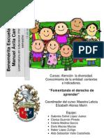 Propuesta de Intervencion Educativa Para Generar Aulas Inclusivas