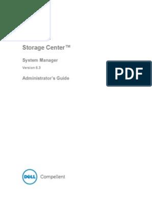 Dell Compellent Storage Center Configuration Guide