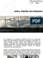Andamios, Alquiler de Andamios