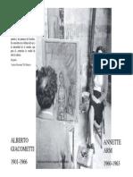 Apuntes Giacometti