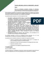 Plan de Prácticas de Psicología- Historia-ciencia y Profesión
