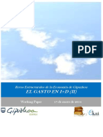 Retos Estructurales de la Economia de Gipuzkoa. EL GASTO EN I+D (II)